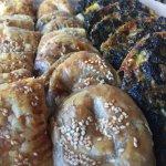 Potato Borekas & Spinach Quiche
