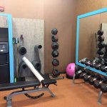Fitness room view 3