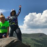 On top of the world at tincup pass