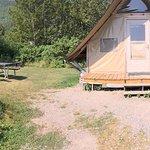 Tente Otentik et le terrain