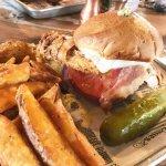 Fried Chicken Sandwich w/ Home Fries