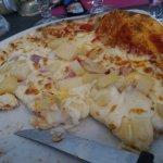 Ca gratine et ce n est pas cuit.... C est dur de rater des pizzas mais avec des mauvais aliments