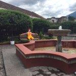 McDonald's courtyard in Antigua, Guatemala