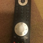 The state of the tv remote sums up the age and attention that's been paid to this hotel.