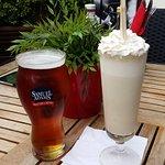 Samuel Adams & Banana Milkshake