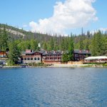 The Pines Resort & Ducey's view from the Lake