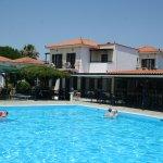 Hotel. pool & pool bar