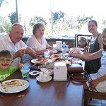 Manzara Kebap'ta ailemle.