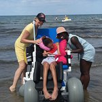 Amazing Beach Wheelchair Available to use