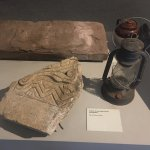 Items taken from old West End tenements when they were demolished.