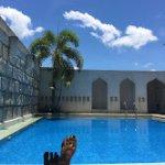 Java Hotel poolside