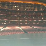 Vista desde el escenario
