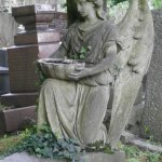 One of many memorials at Highgate East Cemetery