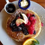 Delicious - Lemon ricotta pancakes - the best ever!