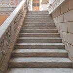 Escalera de mármol blanco Carrara
