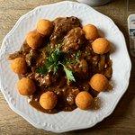 Venison goulash (lunch dish) at the Braugasthaus zum alten Fritz