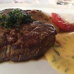 Medium steak delicious