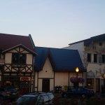 Danish Bakery in Leavenworth WA (red sign)