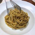 Bigoli pasta with chicken liver ragout