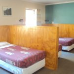 Four share dorm room with shared bathroom and facilities in the Lodge Accommodation