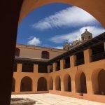 Patio central - Centro de Textiles del Mundo Maya