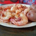 Boiled Shrimp and Potatoes