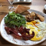 Great brunch at Spoon. Opens at 11:00 on Sundays.