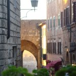 The old city gate