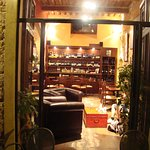 The wonderful wine bar (it may look very different now - this was 10 years ago!)