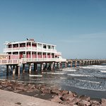 Jimmy's on the Pier is a fun place to eat. After dining, enjoy walking on the pier.