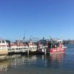 Balboa Island Ferry landing.