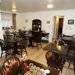 Very warm breakfast area where one starts the day with plenty of attention, fresh coffee/tea, &