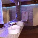 Women's bathroom was cool