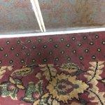 Elevator floor stained