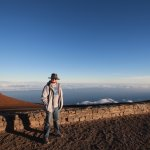Sunset at Haleakala 10,090 feet above sea level