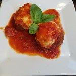 Stuff meatball appetizer