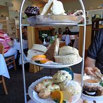 Big Muckle Tea for Two (3 tiered savoury & sweet)