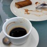 Crêpe et café