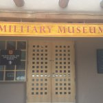 Military Museum Sign