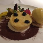 Lovely dessert but they shouldn't call it a Durian cheesecake as it has a very mild durian flavo