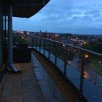Enormous balcony