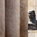 Local area – Diocletian's palace roman sphinx