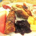 Watermelon, Ribs, Chikcekn, Shrimp and More, Garden Buffet, Southpoint Casino, Las Vegas, Nevada