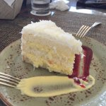 The famous coconut cake