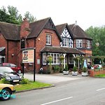 The George and Dragon pub, Meaford, Staffordshire. This pub stands alongside the A34 road to the
