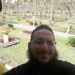 Gärten des Montaza Palace Foto