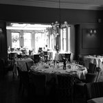 The dining room prior to guests arriving....