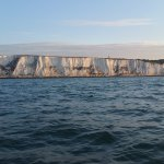 Passing the White Cliffs of Dover