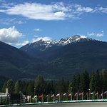 Luge track with a view!