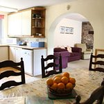 DINING/ KITCHEN AREA IN BARLEY COTTAGE